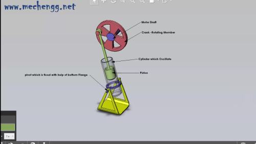 small resolution of animation of oscillating cylinder engine mechanism gif