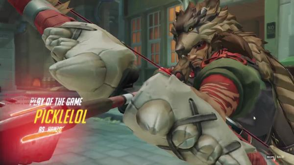 Lucky With Hanzo Overwatch