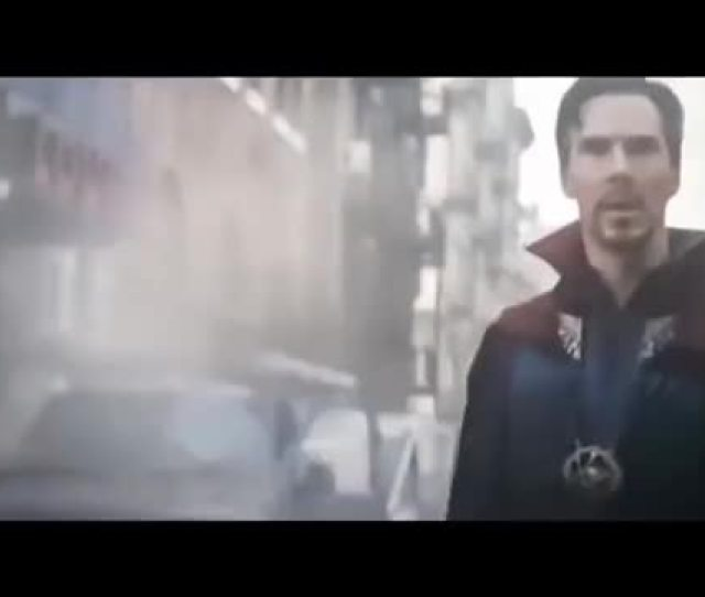 Watch Avengers  Infinity War Iron Man Dr Strange Fight Scenes Gif On Gfycat