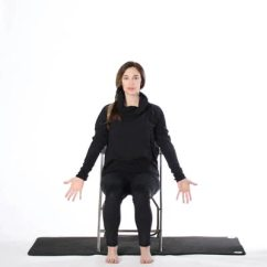 Chair Yoga For Seniors Folding Chairs Walmart Seated Poses
