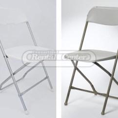 Folding Chairs For Rent Newborn High Chair Fiberglass From Ct Rental Center