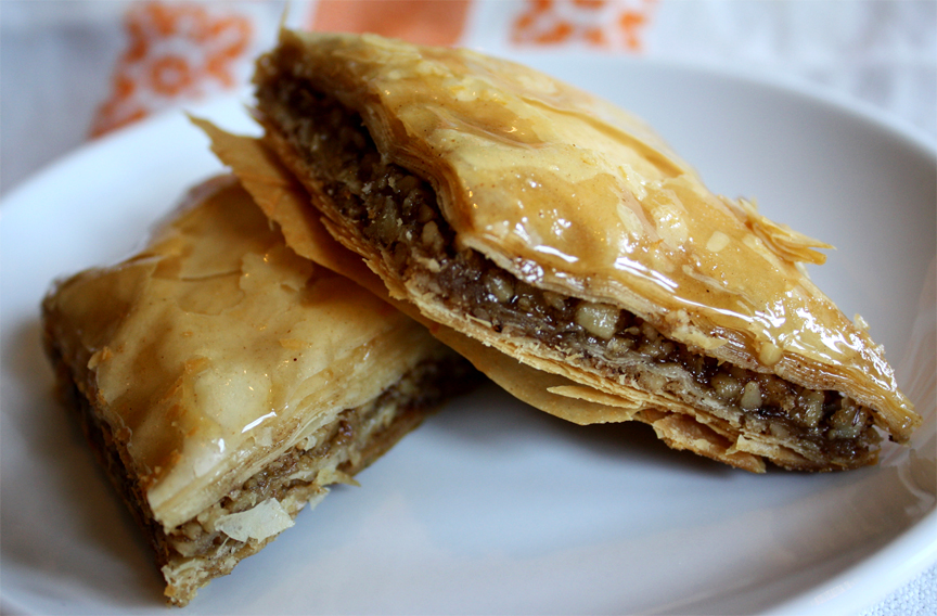 Baklava Recipe By Calorie Less Cooking Ifood Tv