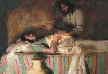 The Healing of Jarius Daughter by C Michael Dudash
