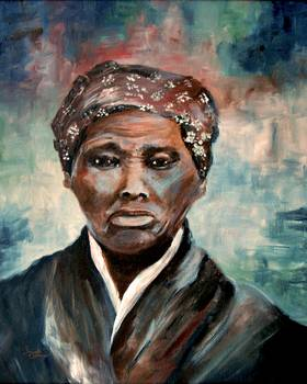 Harriet Tubman by Ginette Callaway