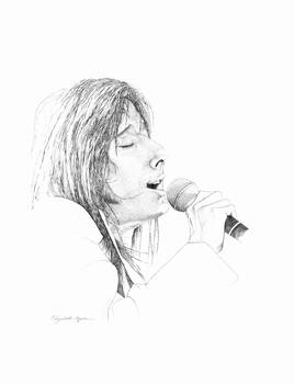 Steve Perry by Diana Martin