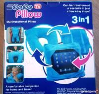 Poduszka do Tableta lub laptopa 3 w 1 - GOGO Pillow Blue ...