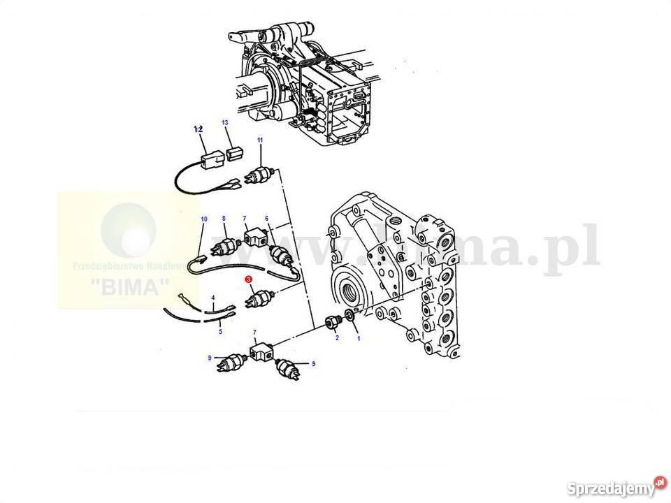 Czujnik ciśnienia BIMA199 MF Massey Ferguson 3680,3690