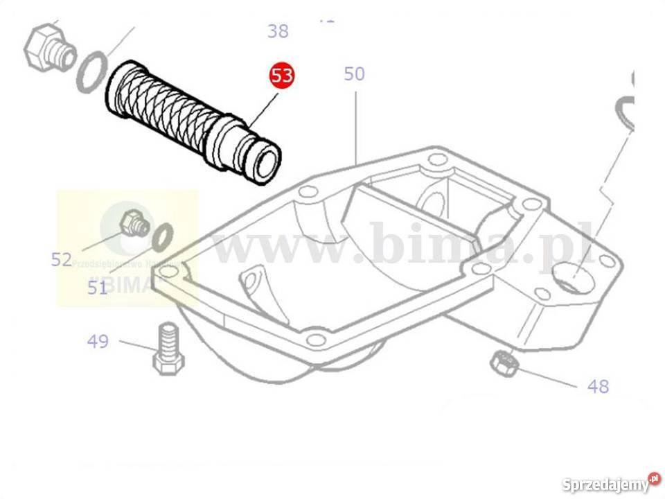 Filtr hydrauliki BIMA5258 MF Massey Ferguson 3120,3125