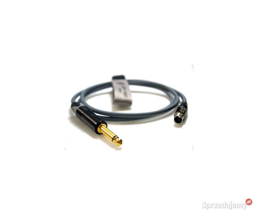 Kabel Gitarowy do Nadajnika 1/4 6,35mm Jack do 3pin Mini