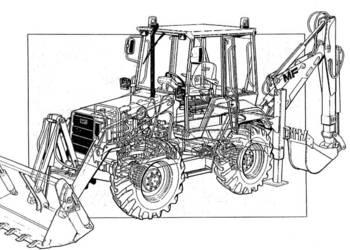 Książka INSTRUKCJA katalog MF 70 mikrociągnik AGROSTOJ