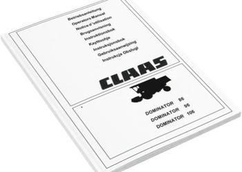 Klepisko Claas Dominator 86 96 Dominator 88 Dominator 98