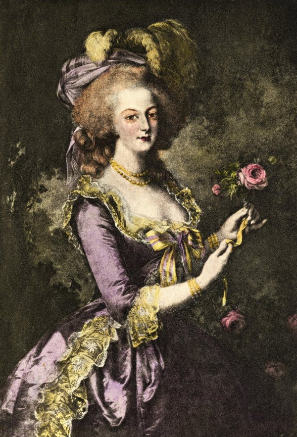 And Antoinette Louis Guillotine Marie Xvi