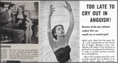 Lysols Vintage Ads Subtly Pushed Women to Use Its