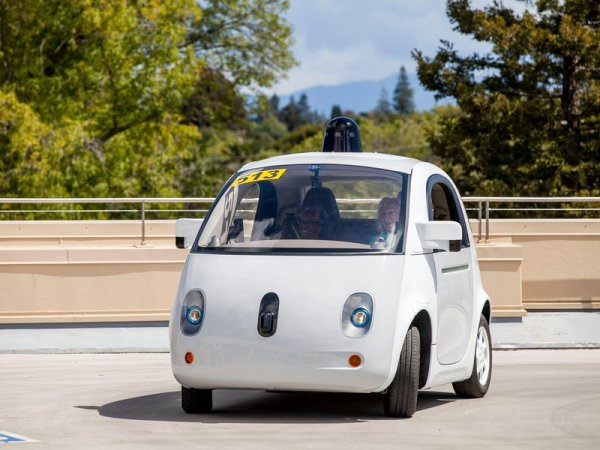 Googles Driverless Car Got Confused By A Cyclist Smart