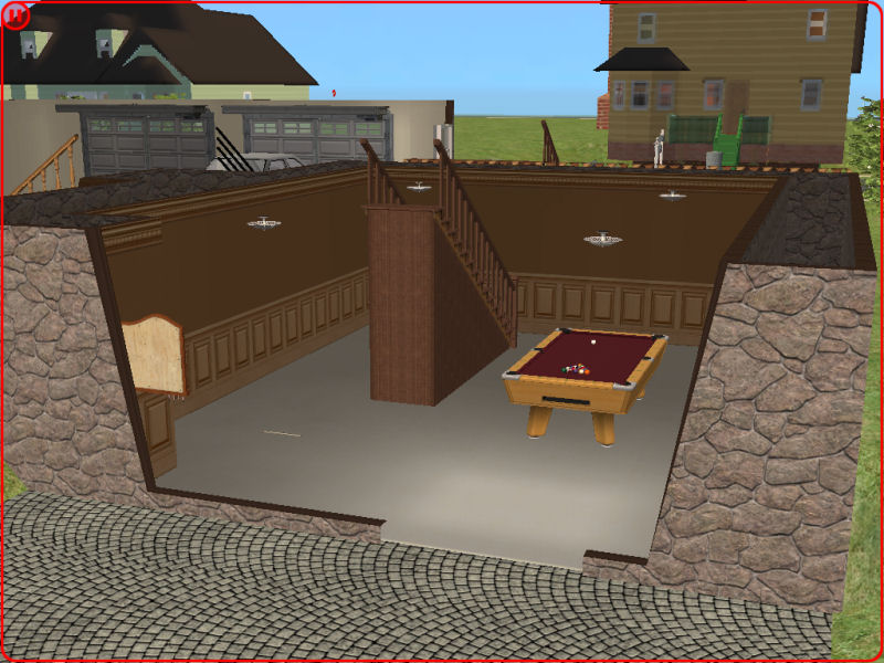 Mod The Sims  Split Level with Walkout Basement 107K