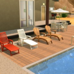 Poolside Lounge Chairs Nursery Rocking Chair Cushion Covers Mod The Sims Ts2 To Ts4 Loungechairs