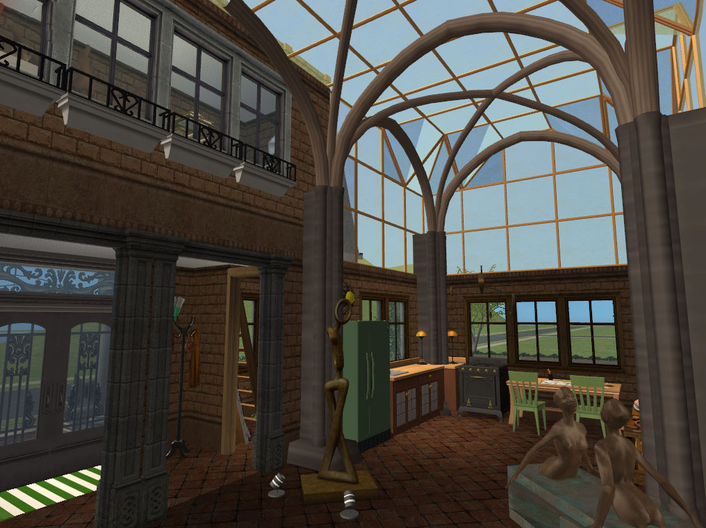 Mod The Sims  Foundation Challenge Artist Converted