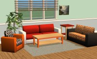 Mod The Sims - Smallhouse Models Living Room Set