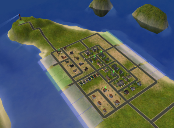 Mod The Sims Sand Simolean Point A Neighborhood