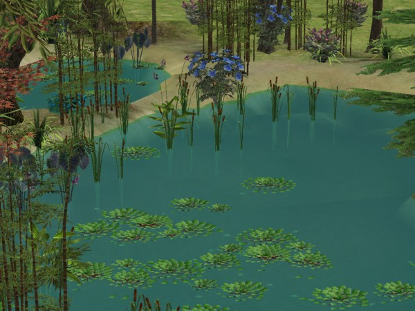 Mod The Sims  Enigmatic Waters  3 More Natural Water Colors  Animated River