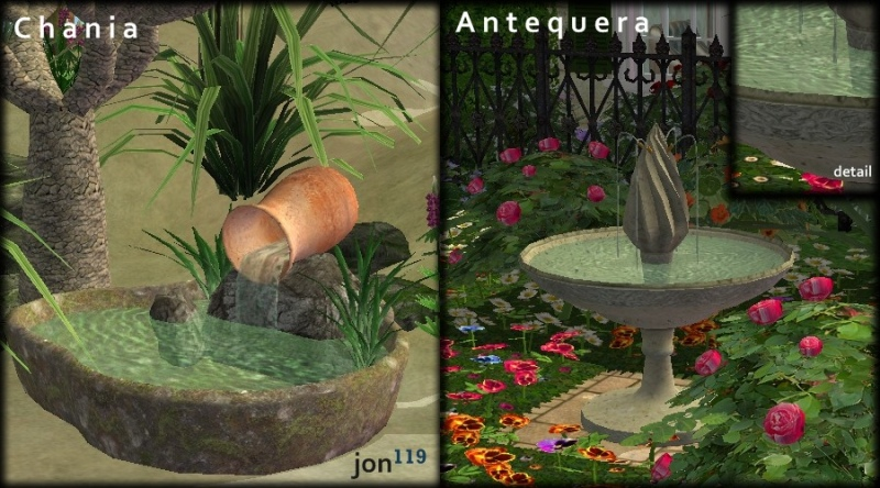 Mod The Sims  Vivid Waters II  7 New Fountains With