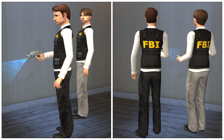 Mod The Sims FBI Kevlar