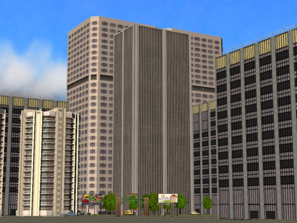 Mod The Sims  Tall skyscrapers