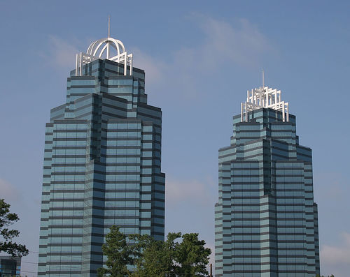 Mod The Sims  King and Queen towers from Atlanta
