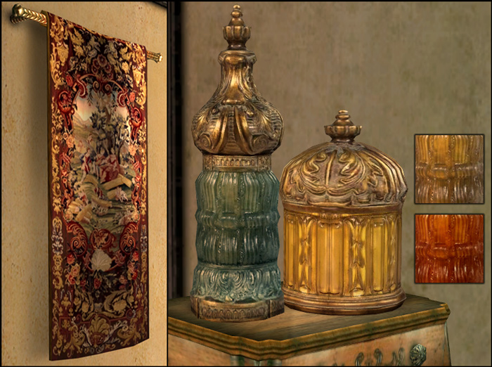 living room decorative items teak furniture mod the sims - persianesque set {updated april ...