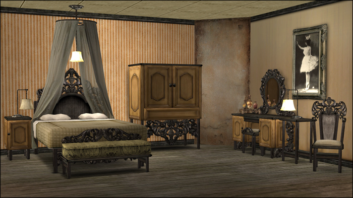 Mod The Sims  Xavier Bedroom Set