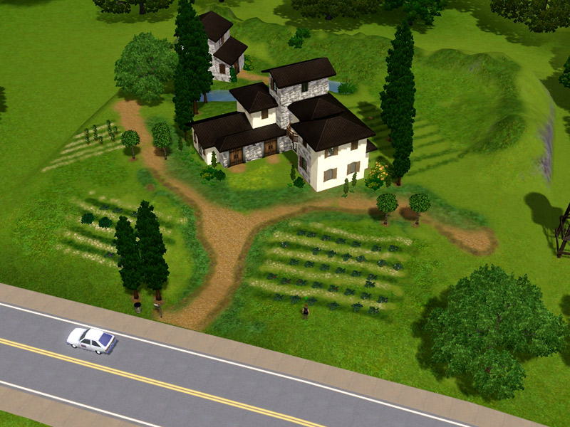 Mod The Sims  Italian Vineyard