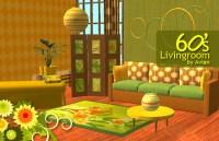 Mod The Sims - 60's livingroom set