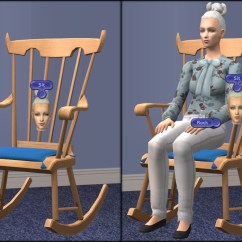 Top Gaming Chair Inflatable Kids Mod The Sims - Deluxe Rockable, Snoozable Rocking