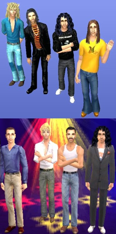 Mod The Sims  Queen rock band