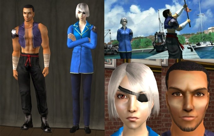 Mod The Sims Fujin And Raijin Of Final Fantasy 8