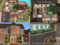 17 Spectacular The Sims 2 House Plans - House Plans | 45555