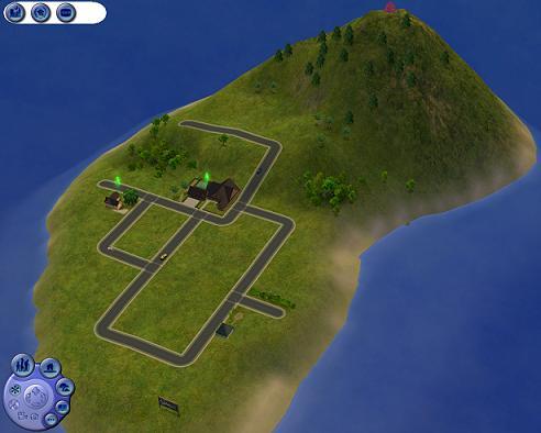 Mod The Sims  Tiny Isle  a small neighbourhood