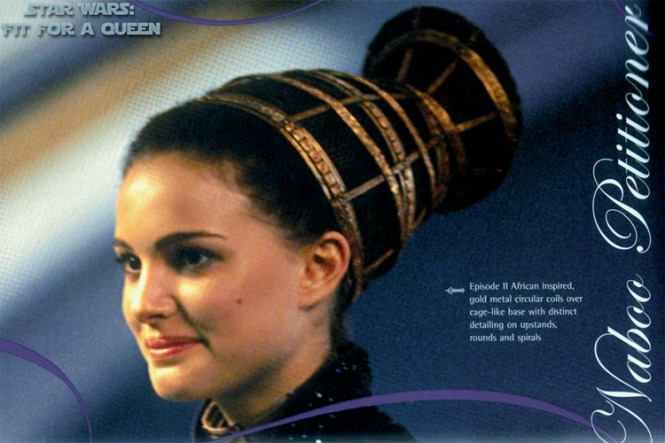 Natalie Portman Starwars Padme Braided Hairstyle Sides Of