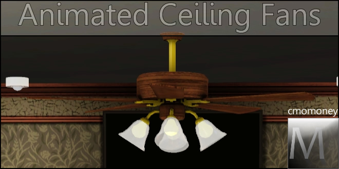 Mod The Sims  More Animated Ceiling Fans  129