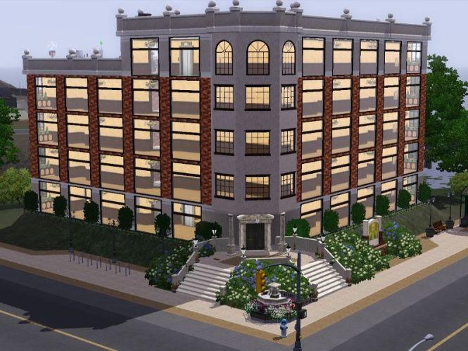 Simsasha Manor Ln Apartment Building