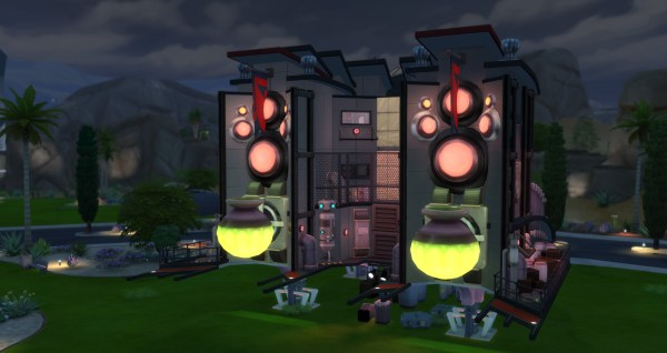 Sims 3 Alien Spacecraft - Year of Clean Water