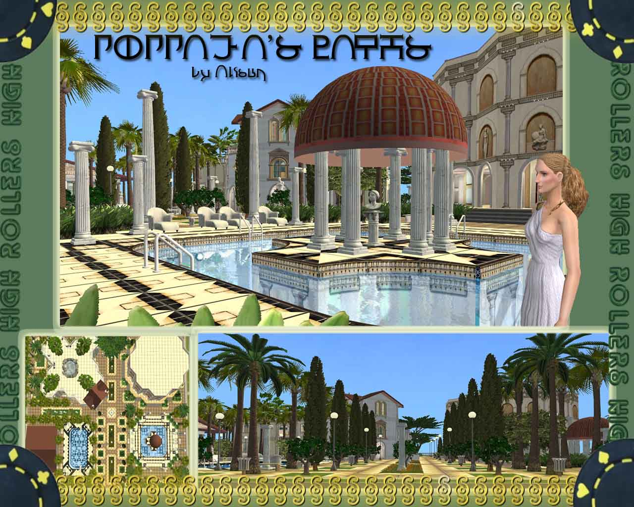 Mod The Sims Poppaeas Baths 5 Stars SPA And Luxury