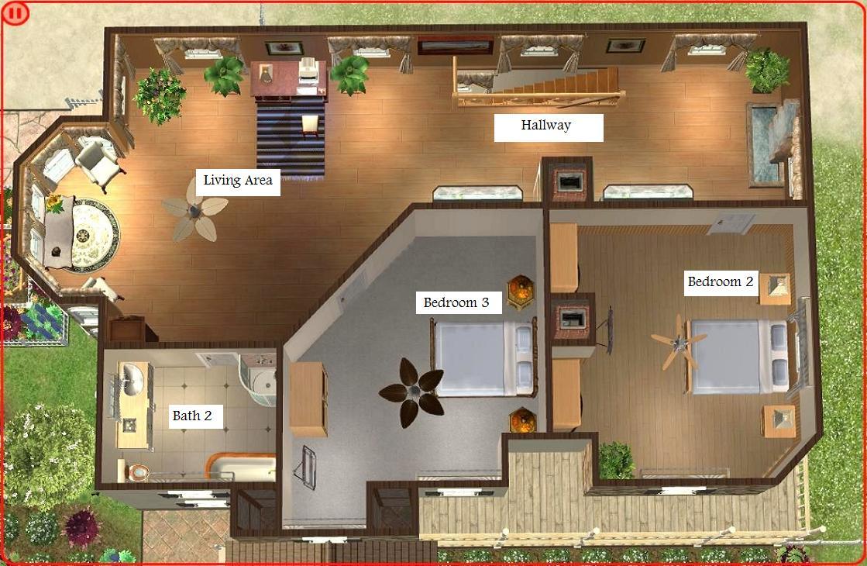 Sims 3 Modern House Floor Plans – Modern House