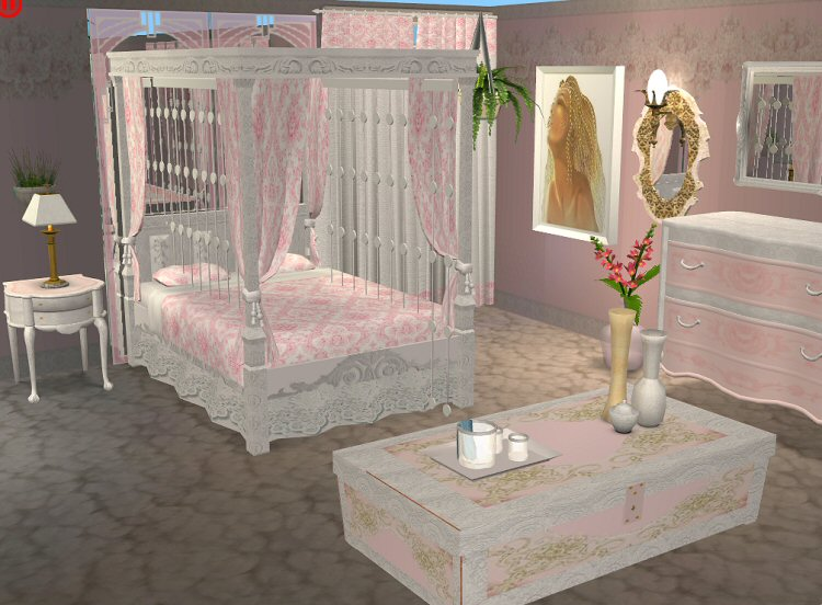 Mod The Sims  Continuation of the MarblePink SetBedroom