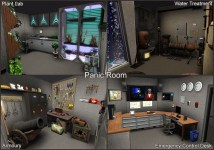 Houses with Panic Rooms