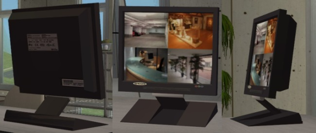Mod The Sims  2 new meshes Decorative Security Camera