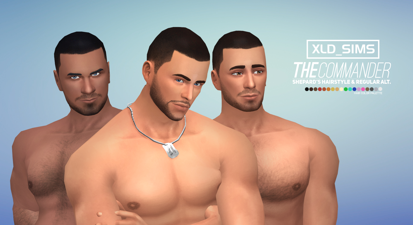 Male Hairstyles Sims 4