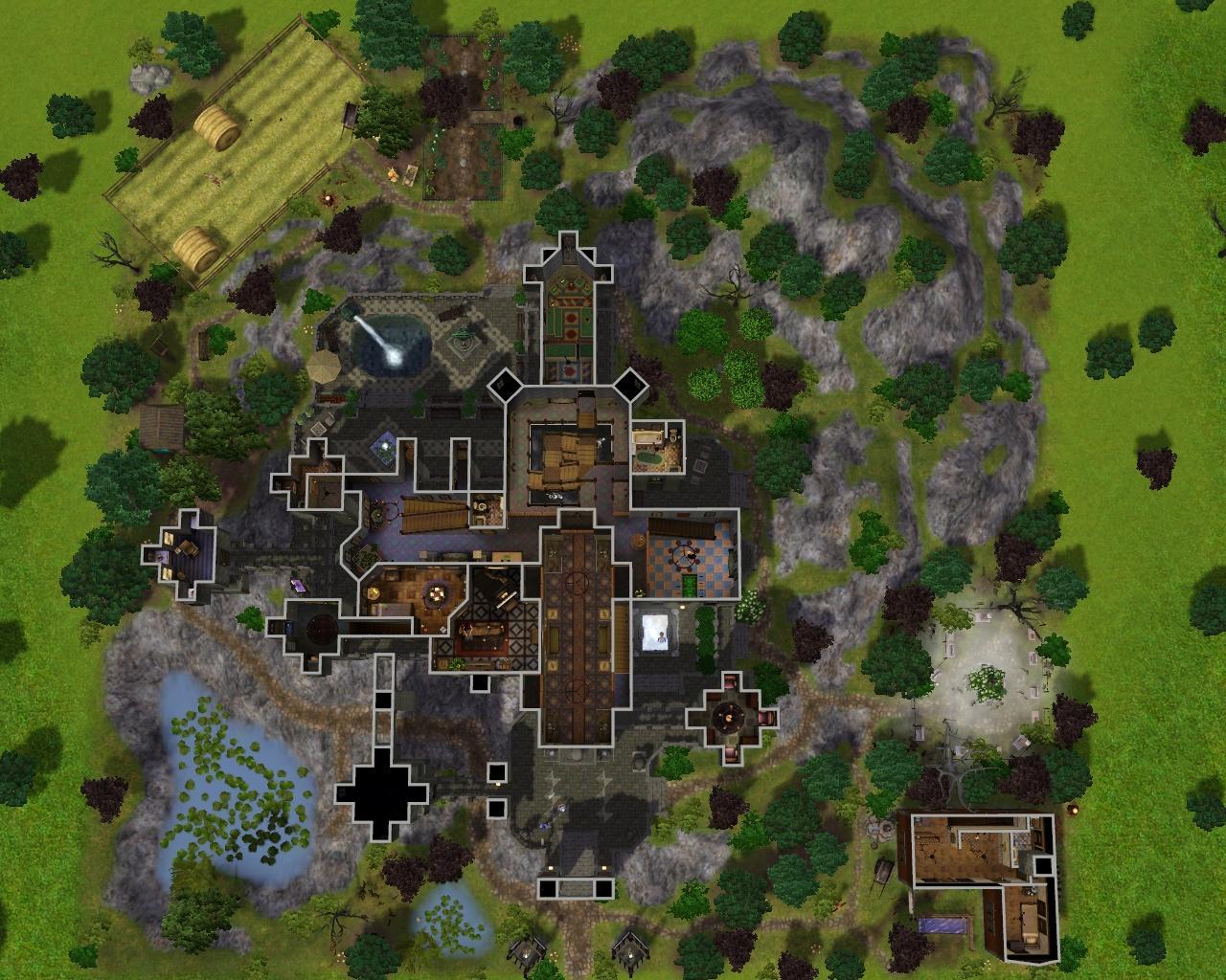 Mod The Sims  Vampire Castle