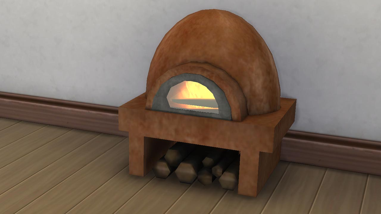 Mod The Sims  Rustic Clay oven 2992018 Update Seasons patch