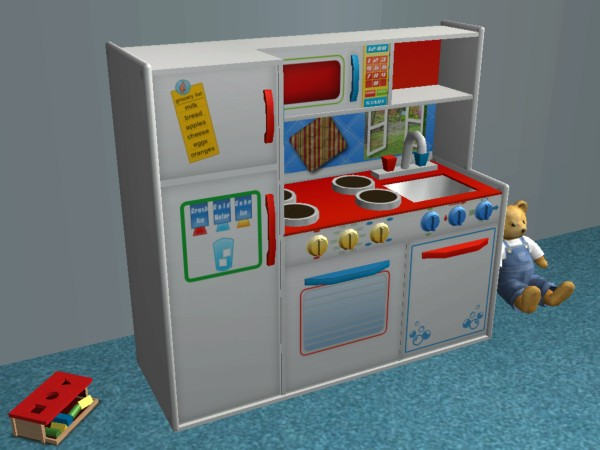 kids play kitchen sets floor cleaner mod the sims - children's deluxe stove